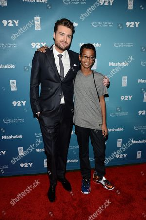 Stock Photo of Pete Cashmore, Ahmed Mohamed