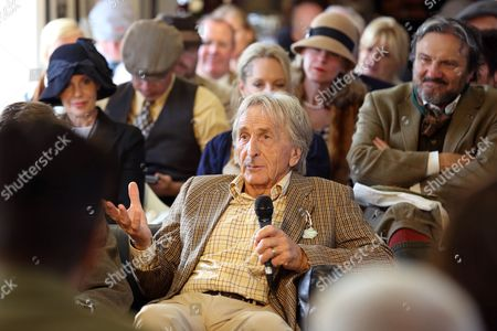 Derek Bell. The Goodwood Revival is a period motoring festival held at Goodwood Motor Circuit
