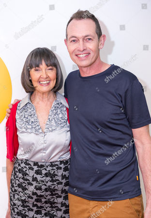Stock Picture of Ann Lowery and son Gary Collins