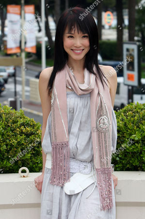 Stock Image of Fann Wong at the Majestic Barriere Hotel