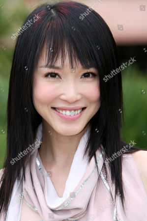 Stock Picture of Fann Wong at the Majestic Barriere Hotel
