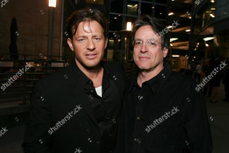 Costas Mandylor and Writer Angelo Pizzo