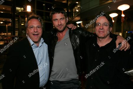 Director David Anspaugh, Gerard Butler and Writer Angelo Pizzo
