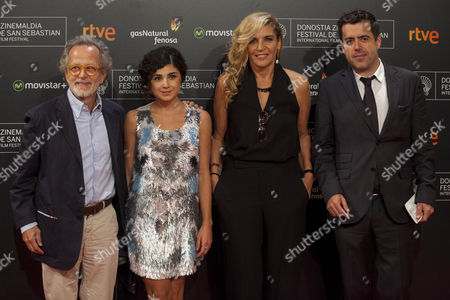 Fernando Colomo, Olivia Delcam and guests