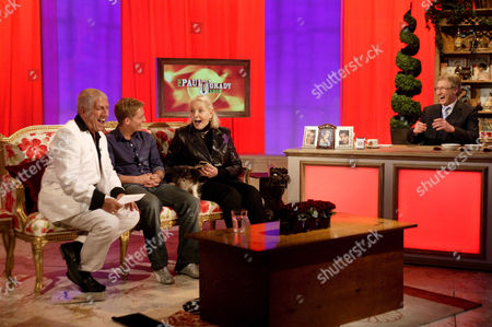 Pete Price, Philip Olivier, Lauren Bacall and Paul O'Grady