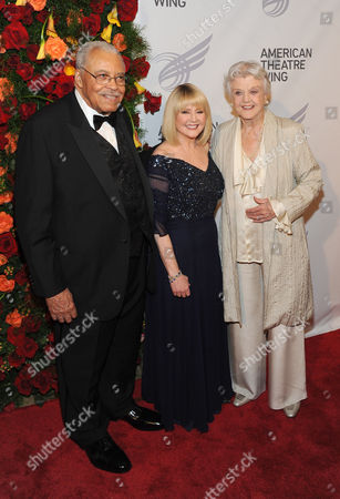 James Earl Jones, Cecilia Hart and Angela Lansbury