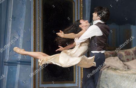 Stock Picture of Alessandra Ferry as Lea, Herman Cornejo as Cheri