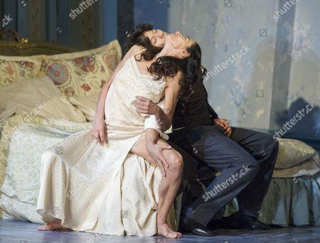 Stock Image of Alessandra Ferry as Lea, Herman Cornejo as Cheri
