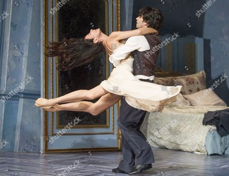 Stock Photo of Alessandra Ferry as Lea, Herman Cornejo as Cheri