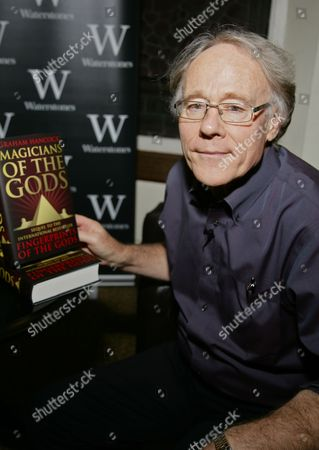 Editorial image of Graham Hancock 'Magicians of the Gods' book signing, Reading, Britain - 29 Sep 2015