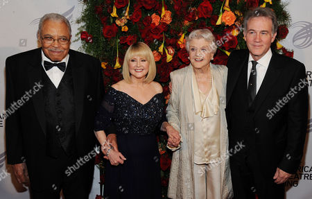 James Earl Jones, Cecilia Hart, Angela Lansbury and guest