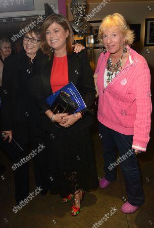 Sarah Standing and Carol Thatcher