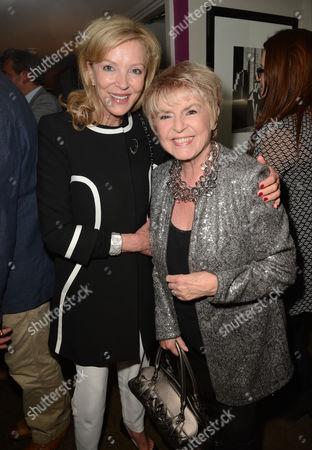 Jackie Caring and Gloria Hunniford