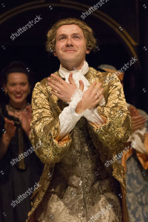Iestyn Davies (Castrato) during the curtain call