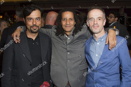 Stock Picture of Emil Marwa, Huss Garbiya (Dr Jose Cervi) and Dominic McHale