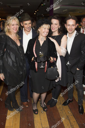 Sonia Friedman (Producer), Mark Rylance (Phillipe V), Claire van Kampen (Author), Melody Grove (Isabella Farnese) and Iestyn Davies (Castrato)