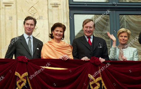 Prince Guillaume, Princess Margaretha, Prince Jean and Archduchess Marie Astrid