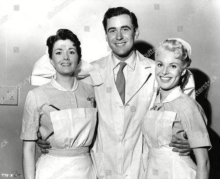 Vivienne Drummond, George Baker and Belinda Lee