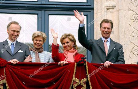 Archduke Christian, Archduchess Marie Astrid, Grand Duchess Maria Teresa and Grand Duke Henri