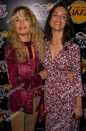 Dyan Cannon and daughter Jennifer Grant