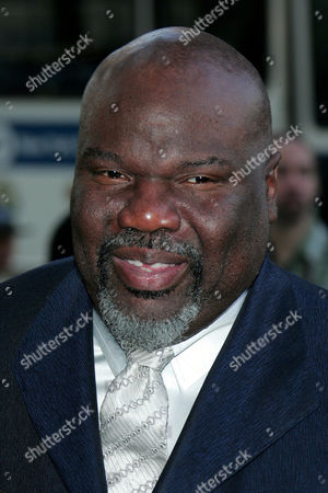Stock Image of Bishop T D Jakes