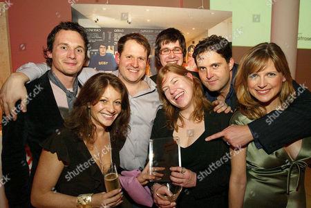 Richard and Melinda Reed, Henry Dimbleby, Ben Peverelli, Allegra McEvedy, John Vincent and Katie Derham.