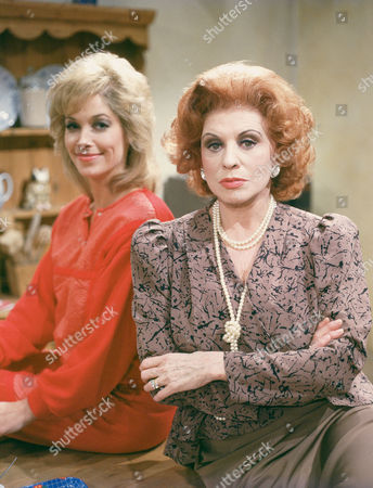 PRUNELLA GEE AND PATRICIA PHOENIX IN 'CONSTANT HOT WATER' - 1986