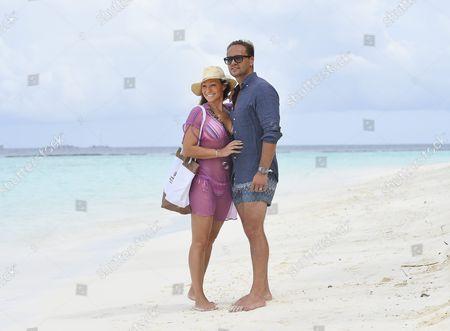 Charlotte Perrelli and Anders Jensen