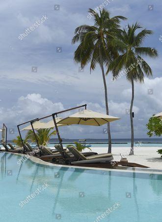 Luxury resort Constance Halaveli in the Maldives