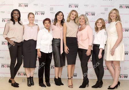 Editorial image of M&S Exclusive Collection Launch for Breast Cancer Now, London, Britain - 29 Sep 2015