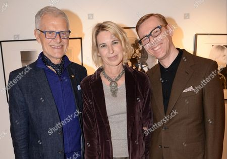 Tony King, Serena Morton and David Hill