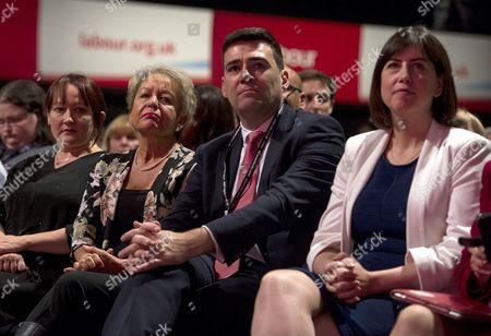 Kerry McCarthy, Rosie Winterton, Andy Burnham and Lucy Powell