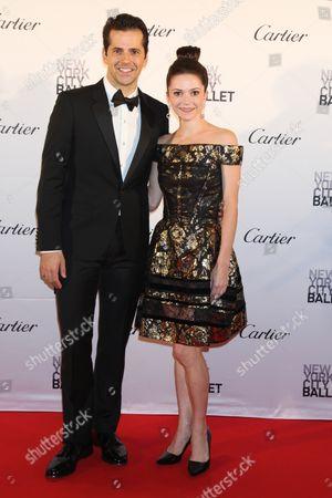 Stock Image of Robert Fairchild and Megan Fairchild
