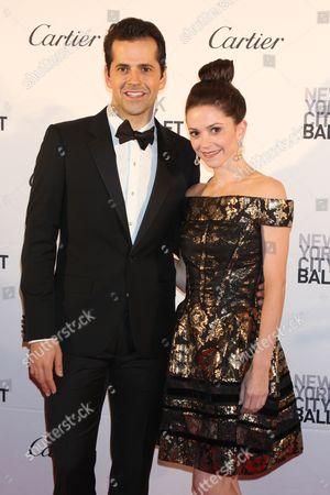 Robert Fairchild and Megan Fairchild