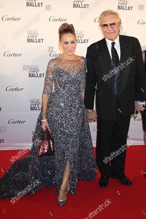 Sarah Jessica Parker and Peter Martins