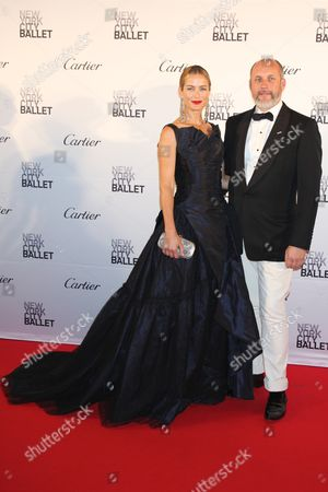Carolyn Murphy and Peter Copping