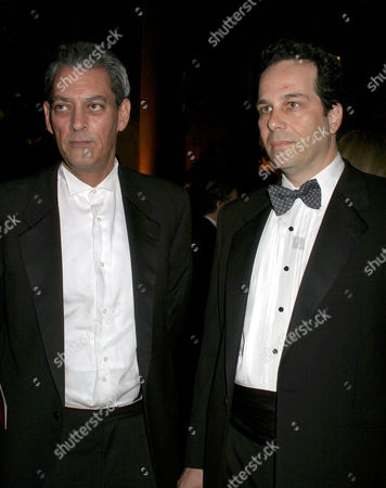 Stock Image of Paul Auster and Philip Gourevitch