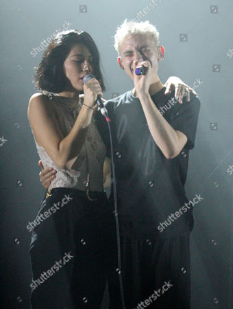 Olly Alexander of Years & Years with Tei Shi