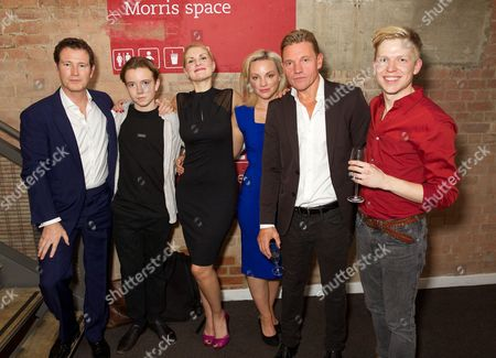 Editorial image of 'Roaring Trade' play at the Park Theatre, Finsbury Park, London, Britain - 30 Sep 2015