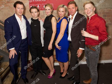 Editorial photo of 'Roaring Trade' play at the Park Theatre, Finsbury Park, London, Britain - 30 Sep 2015