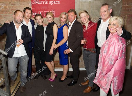 Editorial picture of 'Roaring Trade' play at the Park Theatre, Finsbury Park, London, Britain - 30 Sep 2015