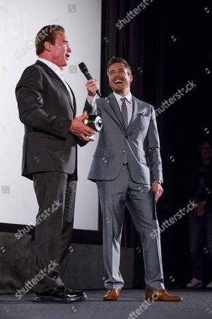 Editorial image of Golden Icon Award, Zurich Film Festival, Switzerland - 30 Sep 2015
