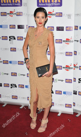 Editorial photo of The National Reality TV Awards 2015, Porchester Hall, London, Britain - 30 Sep 2015