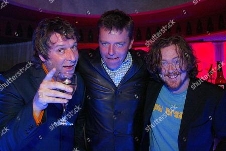 Virgin DJs Pete Mitchell, Suggs and Geoff Lloyd