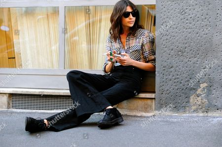 Editorial picture of Street style, Milan Fashion Week, Italy - 26 Sep 2015