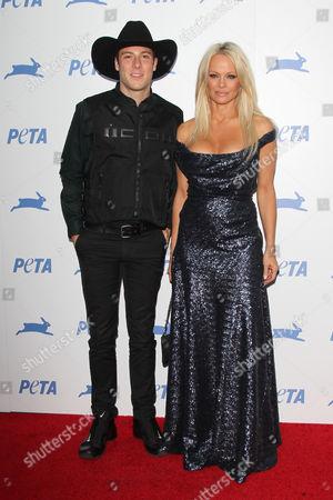 Luke Gilford and Pamela Anderson