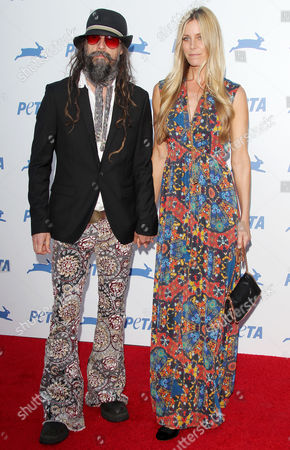 Rob Zombie and Sheri Moon Zombie