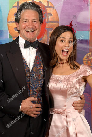 Patrick Mower and Myfanwy Waring