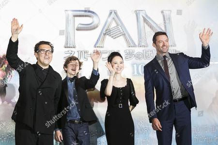 Editorial image of 'Pan' film premiere, Tokyo, Japan - 01 Oct 2015