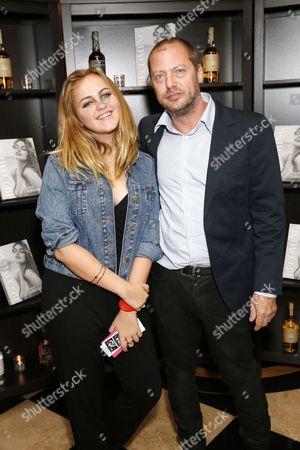Charlotte Emma Freud and Matthew Freud